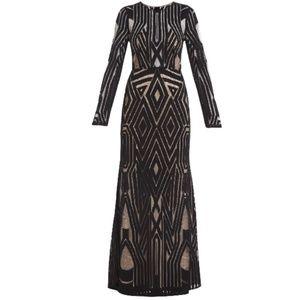 BCBGMAXAZRIA Veira Gown